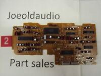 Technics SA-GX330 Original Logic Control Board. Tested Parting out SA-GX330