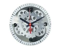 """12"""" Maples Glass Face Mechanical Gear Movement Wall Clock Analog FREE SHIPPING!!"""