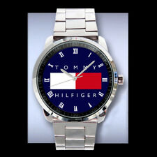 New tommy hilfiger Wheel elegan Logo Sport  Metal Watch