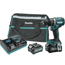 Makita Gph02d 40v Bl 12 In Hammer Drill Driver Kit New