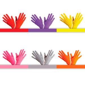 NEU Handschuhe, one size Farbauswahl Kostümhandschuhe bunt Clown farbig Karneval