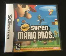 Super Mario Nintendo DS CASE AND MANUAL ONLY