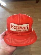 K Products Trucker Hat 70s 80s Snapback Cap Feed Grain Farm Rare Patch Ectiban