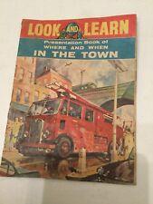 Vintage Comic Look & Learn Insert September 1962