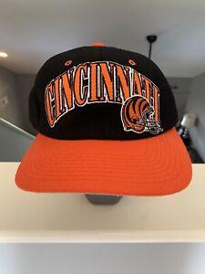 Cincinnati Bengals Vintage 90s Starter NFL Wool Snapback Hat Pro Line
