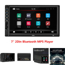 7inch 2Din Car MP5 Player FM Bluetooth Stereo Radio Mirror Link HD Touch Screen