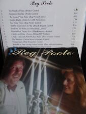 REG POOLE - CANDLES AND WINE - OZ 14 TRK CD - COUNTRY - RARE - VERY CLEAN