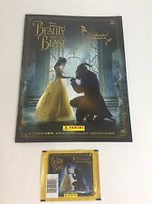 NEW (1) DISNEY BEAUTY AND THE BEAST ENCHANTED PANINI STICKERS AND ALBUM Collect