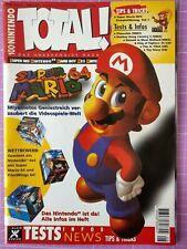 TOTAL! 100% Nintendo Magazin 08/1996 – Sammelauflösung – Sehr guter Zustand