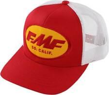 b3aa1e279b2 FMF Racing Origins Red Mens Snapback Trucker Hats