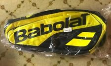 New Babolat Pure Aero Rhx12 Tennis Bag yellow/ black. 12 Racquet Bag