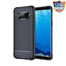 For Samsung Galaxy S8/ S8 Plus Soft Silicon TPU Shockproof Case Rubber Cover