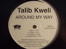 "TALIB KWELI + JOHN LEGEND - AROUND MY WAY / BACK UP OFF ME (12"")  2004!!  RARE!!"