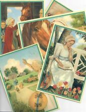 PLEASANT COMPANY FELICITY POSTCARDS! LOT OF FIVE RETIRED 1996! AMERICAN GIRL!