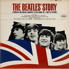 The Beatles' Story Documentary Rare Oop Orig 1964 Capitol Mono Double Lp (Nm!)