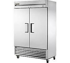 True T-49F-HC 54 Two Section Reach-In Freezer, (2) Solid Doors, 115v