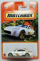 2021 Matchbox Case S WHITE 2003 Nissan 350Z