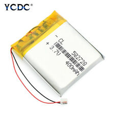 3.7V 400mAh Li-polymer Battery 582728 Cell For MP3 MP4 PSP BT Selfie Stick DAAC