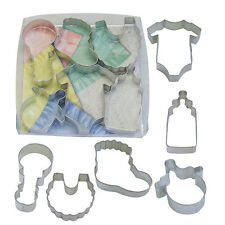 Baby Shower Metal Cutter Set of 6 #1812