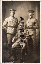 WW1 Group 38th Siege Battery RGA Royal Garrison Artillery P MacKenzie Gor Blimey