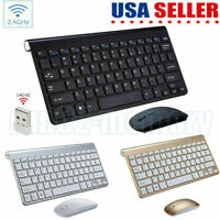 2.4GHZ Wireless Mini Keyboard For Notebook Laptop PC TV Android MacBook Tablet