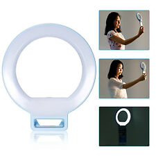 """Neewer 5"""" Dimmable Selfie Clip-on Ring Light f Night or Darkness Lighting (Blue)"""