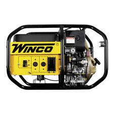 Winco W6010DE Industrial Series Portable Generator 6000 Watt DIESEL 120V 240V