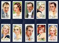 More details for players film stars 3rd series - nice original 1938 set