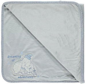 Disney Dumbo Grey Fleece Blanket Shawl