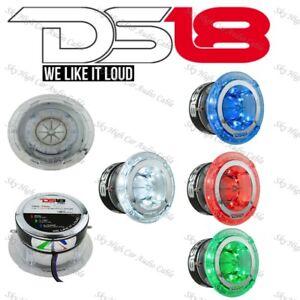 """DS18 PRO TW4L 1.75"""" Titanium Super Bullet Tweeter 600 Watts w/ Built in LEDs"""