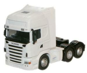 Oxford Diecast Scania Lorry Cab 1:76 Scale Model - White - 76WHSCACAB