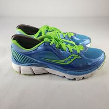 Saucony Kinvara 5 Natural Series S10238-3 Shoes Size 8 Blue Green Running Gym