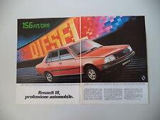 advertising Pubblicità 1982 RENAULT 18 GTD