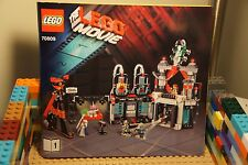 LEGO 70809 The Movie LORD BUSINESS EVIL LAIR Instruction Book Unikitty Vitruvius