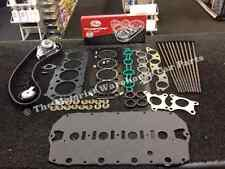 ROVER 75 MG ZTT TURBO HEAD GASKET MLS STEEL HEAD BOLT TIMING BELT KIT WATER PUMP