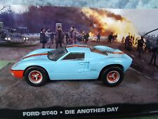 1/43 FORD GT40 James Bond DIE ANOTHER DAY  007 series  diorama