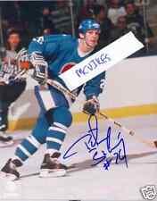 Peter Stastny Quebec Nordiques Autographed Signed 8x10 Photo COA HOF Autograph