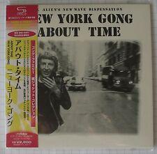 New York Gong-About Time Japon SHM MINI LP CD OBI NOUVEAU! VICP - 70076