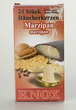 2 x Boxes German Incense - MARZIPAN - Smoker Raucherkerzen Smokerman Rauchermann