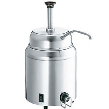 Syrup and Fudge Food Server with Pump - Dispenser