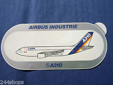 AIRBUS INDUSTRIE - A310 - STICKER - 3 1/2 x 8