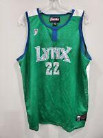 Rare Autograph Signed WNBA Minnesota Lynx Betty Lennox #22 Basketball Jersey XL