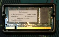 Infineon 256MB DDR, 266, CL2 Memory SDRAM PC2100S-2033-0-A1 (HYS64D32020GDL-7-B)