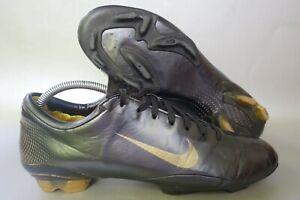 Nike Mercurial Vapor III FG Gr. 44 [UK 9 / US 10] schwarz Nockensohle Ronaldo R9