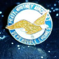 Pratt Whitney Aircraft Dependable Engines Lapel Hat Pin