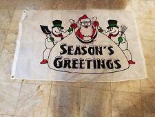 Holiday flag-Season's Greetings Outdoor Nylon