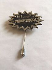 tie stick pin hat scarf collar The Undertaker A126 English Pewter on a
