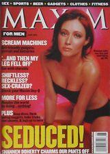 SHANNEN DOHERTY June 1999 MAXIM Magazine #19 ANNA FALCHI / EMMA SJOBERG