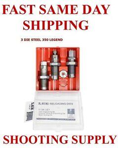 LEE Pacesetter 3-Die Set 350 LEGEND New in Box 90078
