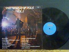 WORLD OF FOLK  VOL. 2.   LP  Shirley Collins  etc   Lovely copy !!
